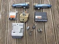 ford focus lock set with ecu