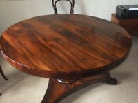 Table, Antique Rosewood