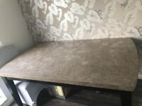 Solid Marble Top Dining Table