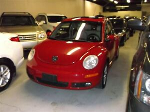 2007 Volkswagen New Beetle Luxury,Accident free Leather sunroof