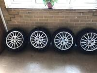 Ford fiesta tyres and rims for sale £120