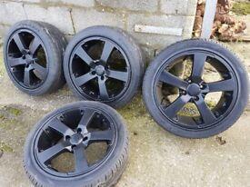 17inch alloys wheels ford Peugeot rims