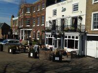 Experienced Chef de Partie Required - The Mute Swan, Hampton Court. Fresh, seasonal food.
