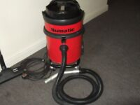 Traders, Builders, Cleaners. Henry Numatic [SUCK & BLOW] (Ultimo power),(H Duty, 12L Steel). £150.00