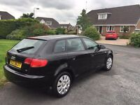 Audi A3 Special Edition 1.6 Petrol - 2006 - Black - 5 Door Hatchback - MOT Nov 2017