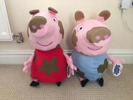 New large peppa and George