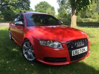 AUDI S4 4.2 QUATTRO BLACK EDT AUTO 2007 4 DOOR SALOON FULLY LOADED EVERY EXTRA