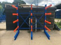 NEW EXCEL DOUBLE BAY CANTILEVER RACKING STORAGE SYSTEM (Brentwood Branch)