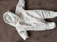 Used baby wintersuits, unisex, 0-3 months