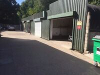 Large Industrial Unit with roller shutter entrance for trade use