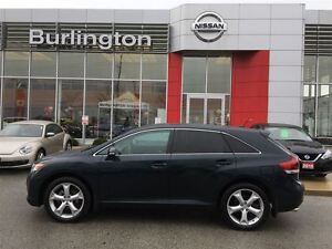 2014 Toyota Venza XLE, ROOF, LEATHER, ACCIDENT FREE !