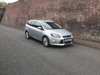 2013/62 FORD FOCUS ZETEC NAV TDCI FULL SERVICE HISTORY 1 OWNER !!! FINANCE AVAILABLE FROM £26 P/W