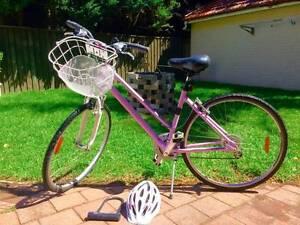 Female Near-New Mauve APOLLO Hybrid Bike For Sale Double Bay Eastern Suburbs Preview