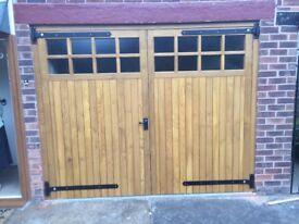 Bespoke Wooden Garage Doors Hardwood or Softwood