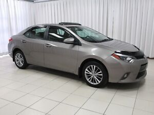 2015 Toyota Corolla LE with A/C , BACK UP CAMERA, FOG LIGHTS, HE