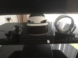 PS4 Pro and psvr