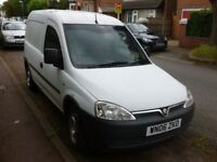 Vauxhall Combo van 1300 year of reg. 2006
