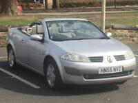 RENAULT MEGANE CONVERTABLE 2006 (55 REG)*£1199*LEATHER INTERIOR*PX WELCOME*DELIVERY