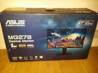 Asus MG 278 144HZ 1MS 27 INCH Monitor 2k 2560 x 1440