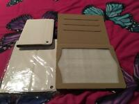 iPad or mini iPad faux leather cases