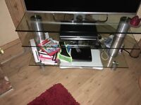 Glass TV Unit for sale
