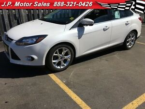 2014 Ford Focus Titanium, NAV, Heated Seats, Power Sunroof