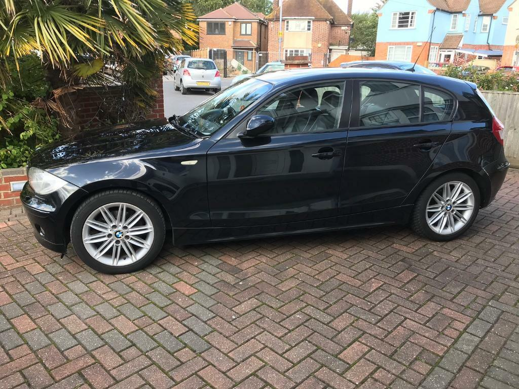Bmw 1 Series 120i Se Auto 5dr Black 66 652 Miles Full Service History Lady Owner In Slough Berkshire Gumtree