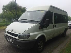 Ford transit 15 seater mini bus