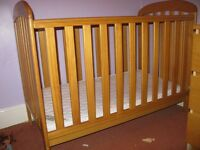 Sturdy Cot for sale in very good, clean condition