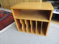 LP record storage box (Chew Magna Village)