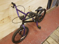 "Haro 18"" BMX for about 7 to 11 year old"