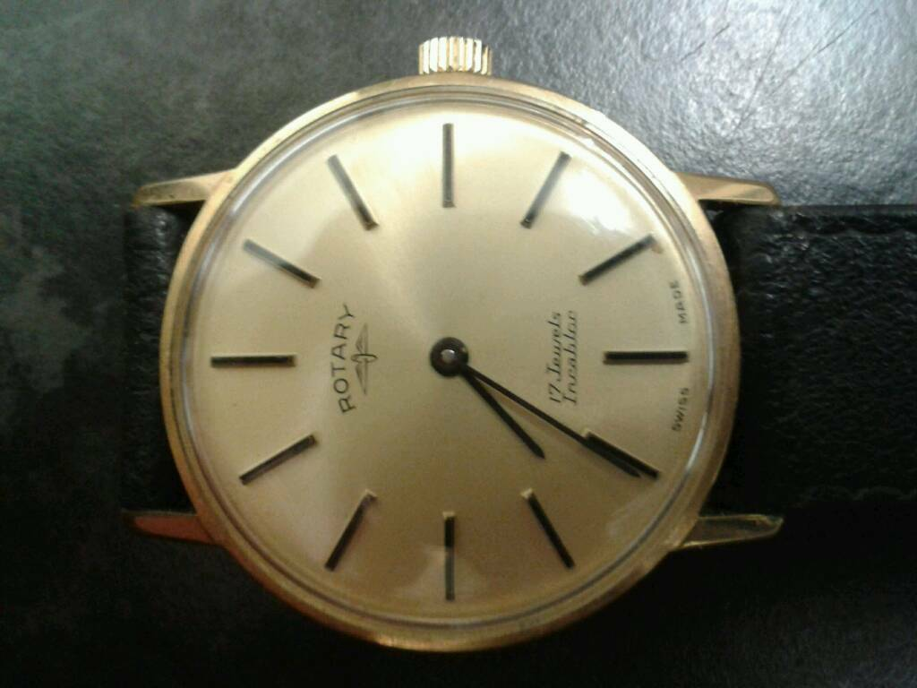 fdffaec361c2 ROTARY INCABLOC WATCH VINTAGE AND 17 JULES FULLY WORKING. Leicester ...