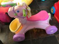 Fisher Price musical horse