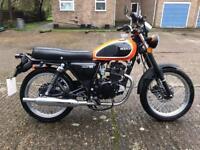 Herald 125 motorcycle