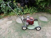 Rough Cut Lawn Mower 5hp Hatterette with no nonesence blade. It's a beast