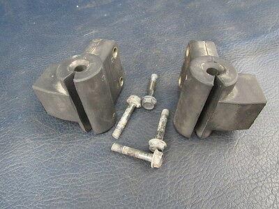 Honda TRX250 TRX200 ATC250ES Rubber Headlight Bracket Mounts 1984 - 1987