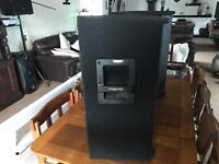 Intimidation speakers 1NT- 115X 500 peak