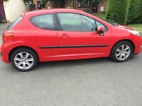 Peugeot 207 - Good condition. less than 60000 miles full service history