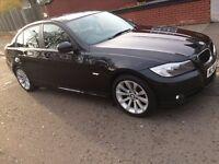 BMW 3 Series 2.0, 4 door, Black, Model 2010 - Great Value