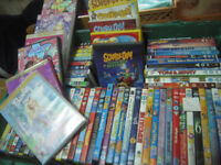 childrens dvds 74in total