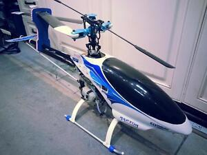 Thunder Tiger Raptor 90 RC helicopter. We sell used Goods. (#43184)