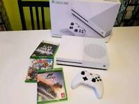 Xbox One S 500GB with three games - like new.