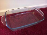 Marinex Casserole Dish - Non Stick Oven Bake - Ovenproof Tray - Hard Glass