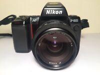 NIKON F-801 camera, lens & filter
