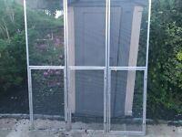 Alluminium aviary panel
