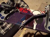 Salomon Shade 150 Snowboard + bag, bindings + size 10 boots