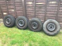 VW t5 wheels