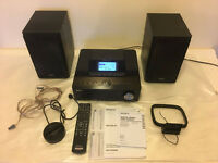 Sony Giga Juke NAS-E300HD Micro HiFi System CD Player 80GB HDD DAB