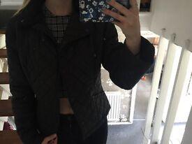 John Partridge Coat - Black - Size 10