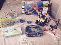 Great condition boys hot wheels, elc,toys